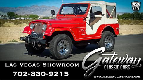 1978 Jeep CJ-5 for sale in Las Vegas, NV
