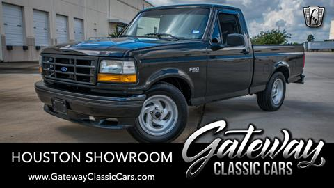 Accesorios Para Trocas Ford F150 >> 1993 Ford F 150 Svt Lightning For Sale In Houston Tx