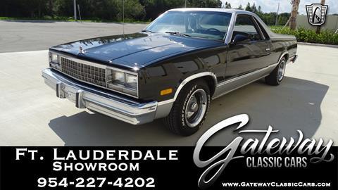 1987 Chevrolet El Camino for sale in Coral Springs, FL