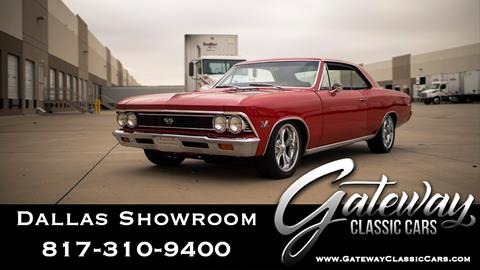 1966 Chevrolet Chevelle for sale in Grapevine, TX