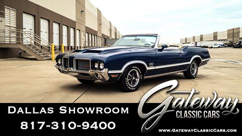 1972 Oldsmobile Cutlass for sale in Grapevine, TX