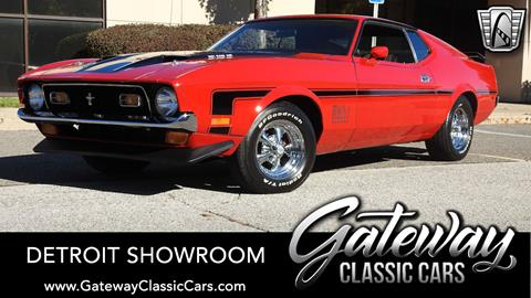 1972 Ford Mustang for sale in Dearborn, MI