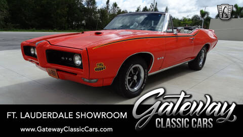 1968 Pontiac GTO for sale in Coral Springs, FL