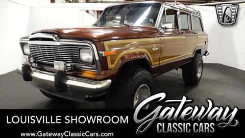 1984 Jeep Grand Wagoneer for sale in Memphis, IN