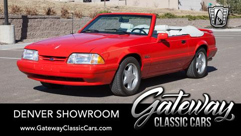 1992 Ford Mustang for sale in Englewood, CO