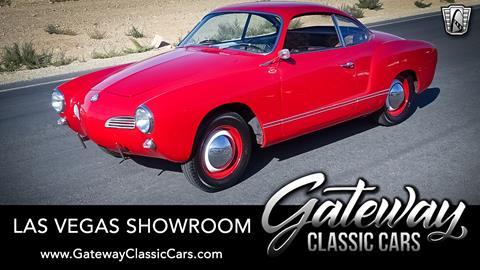 Gateway Auto Sales >> 1962 Volkswagen Karmann Ghia For Sale In Las Vegas Nv