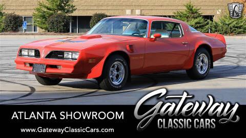 1978 Pontiac Trans Am for sale in Alpharetta, GA