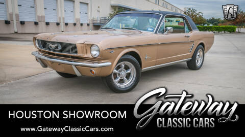 1966 Ford Mustang For Sale >> 1966 Ford Mustang For Sale In Houston Tx