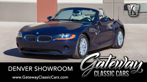 2004 BMW Z4 2.5i for sale at Gateway Classic Cars - Denver Showroom in Englewood CO