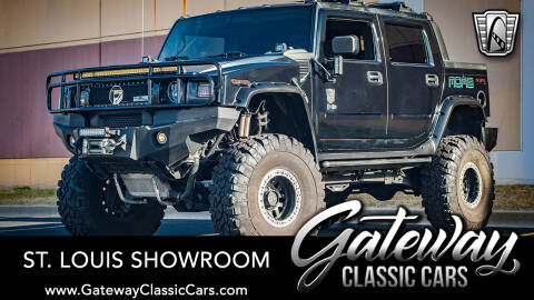 2005 HUMMER H2 SUT for sale at Gateway Classic Cars - St Louis Showroom in O'Fallon IL