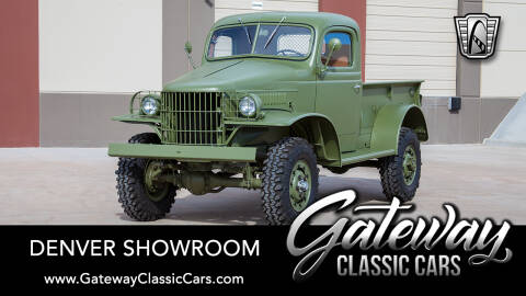 1941 Dodge WC for sale at Gateway Classic Cars - Denver Showroom in Englewood CO