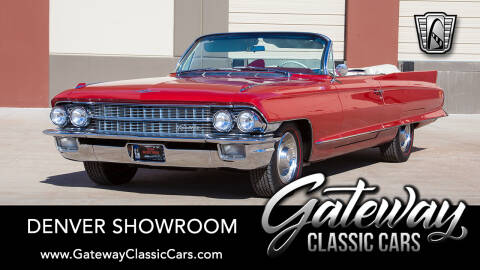 1962 Cadillac Series 62 for sale at Gateway Classic Cars - Denver Showroom in Englewood CO