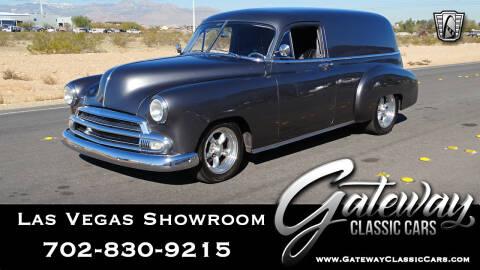 1951 Chevrolet Sedan Delivery for sale at Gateway Classic Cars - Las Vegas Showroom in Las Vegas NV