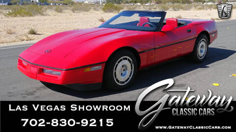 1986 Chevrolet Corvette for sale at Gateway Classic Cars - Las Vegas Showroom in Las Vegas NV