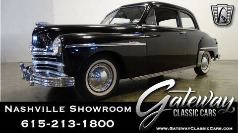 1949 Plymouth Coupe for sale at Gateway Classic Cars - Nashville Showroom in La Vergne TN