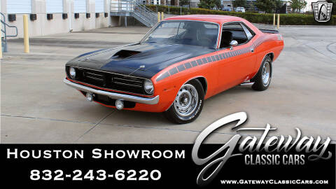 1970 Plymouth Cuda for sale at Gateway Classic Cars - Houston Showroom in Houston TX