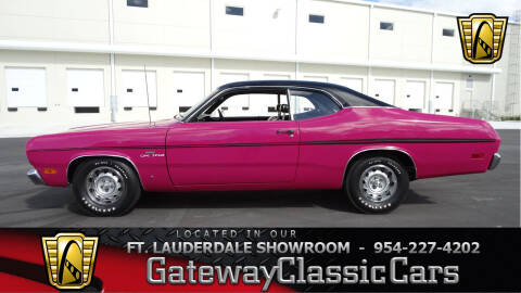 1970 Plymouth Duster for sale at Gateway Classic Cars - Ft. Lauderdale Showroom in Coral Springs FL