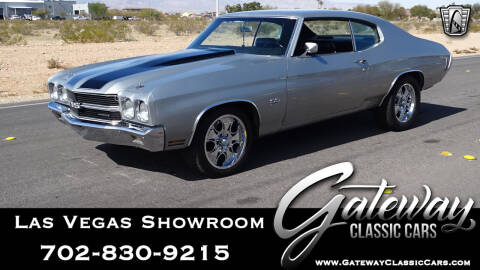 1970 Chevrolet Chevelle for sale at Gateway Classic Cars - Las Vegas Showroom in Las Vegas NV