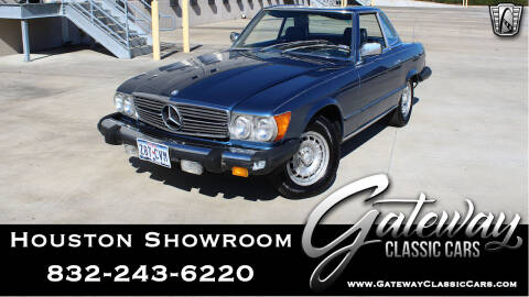 1980 Mercedes-Benz 450-Class for sale at Gateway Classic Cars - Houston Showroom in Houston TX