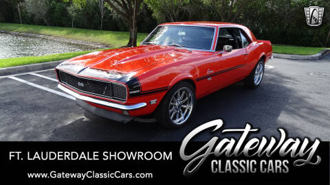1968 Chevrolet Camaro for sale at Gateway Classic Cars - Ft. Lauderdale Showroom in Coral Springs FL