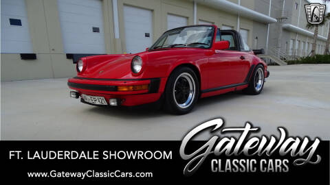 1982 Porsche 911 for sale at Gateway Classic Cars - Ft. Lauderdale Showroom in Coral Springs FL