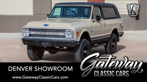 1970 Chevrolet Blazer for sale at Gateway Classic Cars - Denver Showroom in Englewood CO