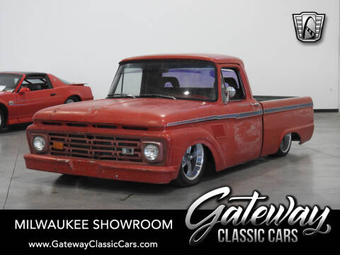 1964 Ford F-100 for sale at Gateway Classic Cars - Milwaukee Showroom in Kenosha WI