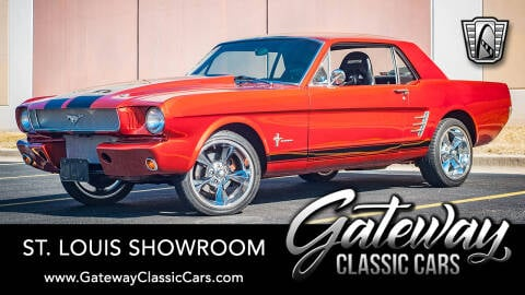 1966 Ford Mustang for sale at Gateway Classic Cars - St Louis Showroom in O'Fallon IL