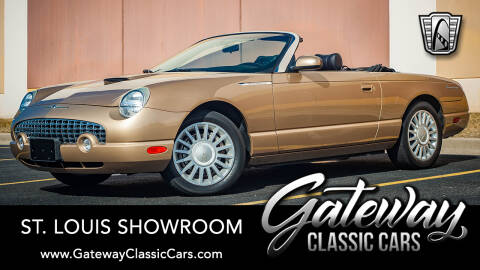 2005 Ford Thunderbird Deluxe for sale at Gateway Classic Cars - St Louis Showroom in O'Fallon IL