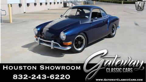 1971 Volkswagen Karmann Ghia for sale at Gateway Classic Cars - Houston Showroom in Houston TX