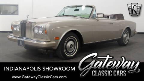 1985 Rolls-Royce Corniche for sale at Gateway Classic Cars in O Fallon IL