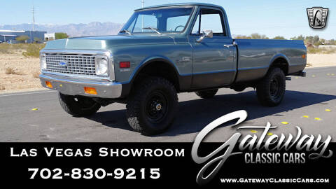 1972 Chevrolet C/K 10 Series for sale at Gateway Classic Cars - Las Vegas Showroom in Las Vegas NV