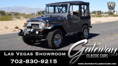 1967 Toyota Land Cruiser for sale at Gateway Classic Cars - Las Vegas Showroom in Las Vegas NV
