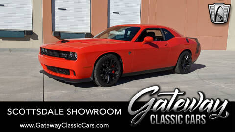 2016 Dodge Challenger SRT Hellcat for sale at Gateway Classic Cars - Scottsdale Showroom in Deer Valley AZ