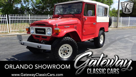1981 Toyota Land Cruiser for sale at Gateway Classic Cars - Orlando Showroom in Lake Mary FL