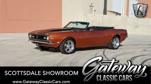 1968 Chevrolet Camaro for sale at Gateway Classic Cars - Scottsdale Showroom in Deer Valley AZ