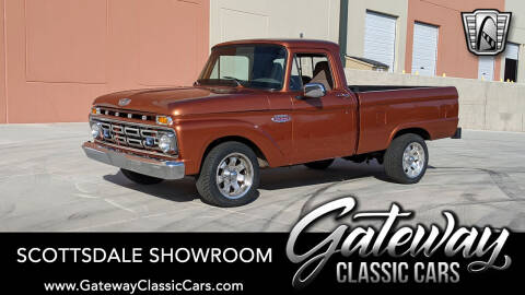 1966 Ford F-100 for sale at Gateway Classic Cars - Scottsdale Showroom in Deer Valley AZ