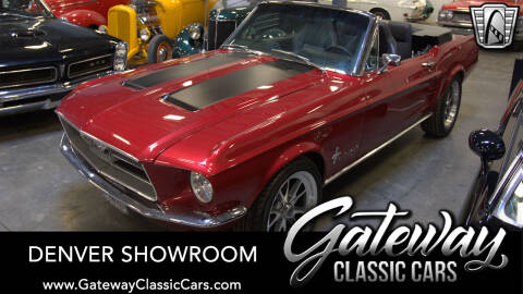 1967 Ford Mustang for sale at Gateway Classic Cars - Denver Showroom in Englewood CO