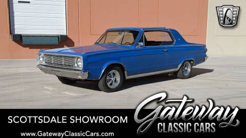 1966 Dodge Dart for sale at Gateway Classic Cars - Scottsdale Showroom in Deer Valley AZ