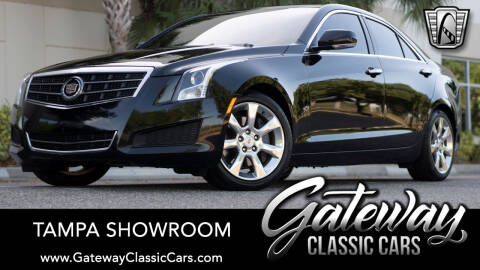 2013 Cadillac ATS for sale at Gateway Classic Cars - Tampa Showroom in Ruskin FL