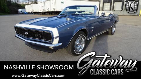 1967 Chevrolet Camaro for sale at Gateway Classic Cars - Nashville Showroom in La Vergne TN