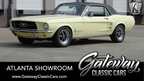 1967 Ford Mustang for sale at Gateway Classic Cars - Atlanta Showroom in Alpharetta GA