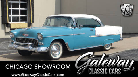 1955 Chevrolet Bel Air for sale at Gateway Classic Cars - Chicago Showroom in Crete IL