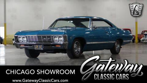 1967 Chevrolet Impala for sale at Gateway Classic Cars - Chicago Showroom in Crete IL