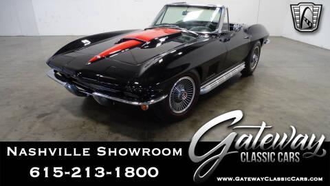 1967 Chevrolet Corvette for sale at Gateway Classic Cars - Nashville Showroom in La Vergne TN
