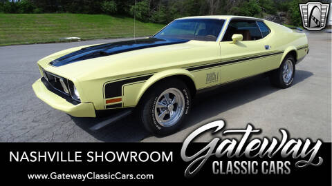 1973 Ford Mustang for sale at Gateway Classic Cars - Nashville Showroom in La Vergne TN