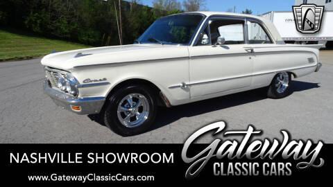 1963 Mercury Comet for sale at Gateway Classic Cars - Nashville Showroom in La Vergne TN