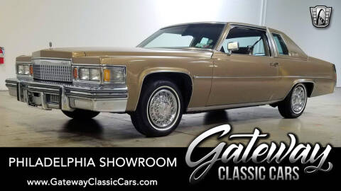 1979 Cadillac DeVille for sale at Gateway Classic Cars - Philadelphia Showroom in West Deptford NJ