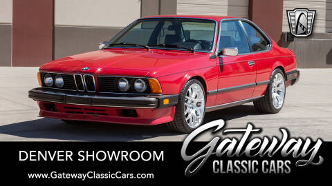 1986 BMW 6 Series 633CSi for sale at Gateway Classic Cars - Denver Showroom in Englewood CO