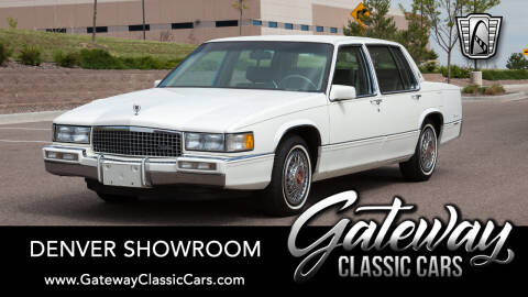 1989 Cadillac DeVille for sale at Gateway Classic Cars - Denver Showroom in Englewood CO